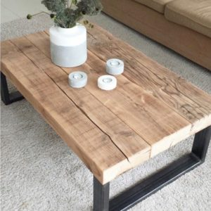 Table basse Jena artisanale